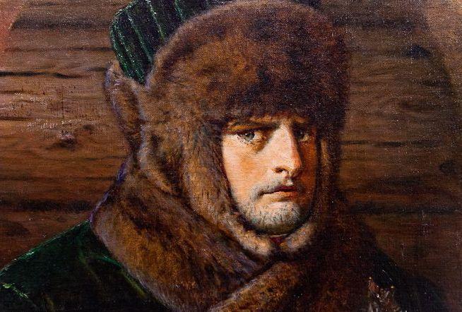 Следы Наполеона на снегу