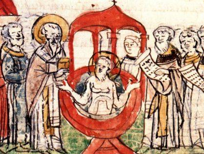 Крещение в летописях