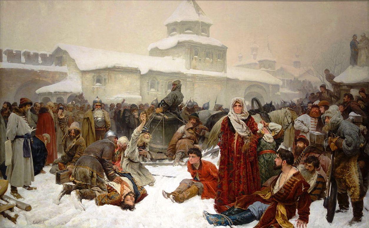 Новгородцы такали, такали, да Новгород и протакали.